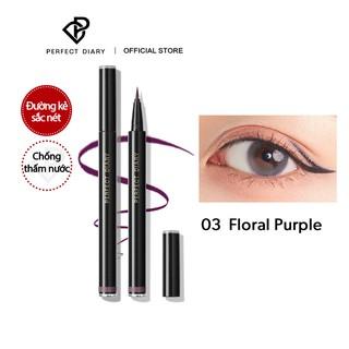 Bút kẻ mắt nước siêu sắc mảnh Perfect Diary Eye-Catching 7 màu 0.5ml thumbnail