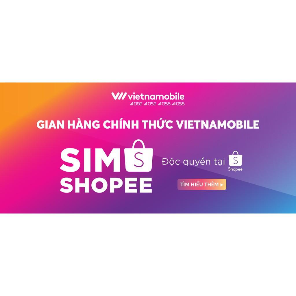 [Miễn Phí 12 Tháng] Sim Data 6GB/Ngày - 180 GB/Tháng - Mua 1 tặng 1 sim Gift - Độc Quyền Vietnamobile