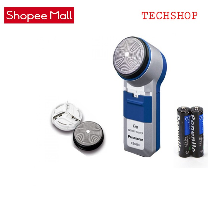 Máy cạo râu Panasonic ES6850 (Xanh phối bạc)+ Pin 2AA Ponenlie - 10076132 , 1193320432 , 322_1193320432 , 330000 , May-cao-rau-Panasonic-ES6850-Xanh-phoi-bac-Pin-2AA-Ponenlie-322_1193320432 , shopee.vn , Máy cạo râu Panasonic ES6850 (Xanh phối bạc)+ Pin 2AA Ponenlie