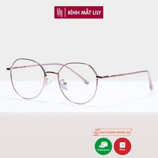 Gọng kính cận thời trang nữ cao cấp Lilyeyewear 29183