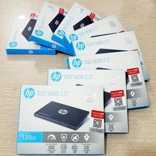 Ổ cứng SSD 2.5 inch SATA HP S600 120GB-bảo hành 3 năm