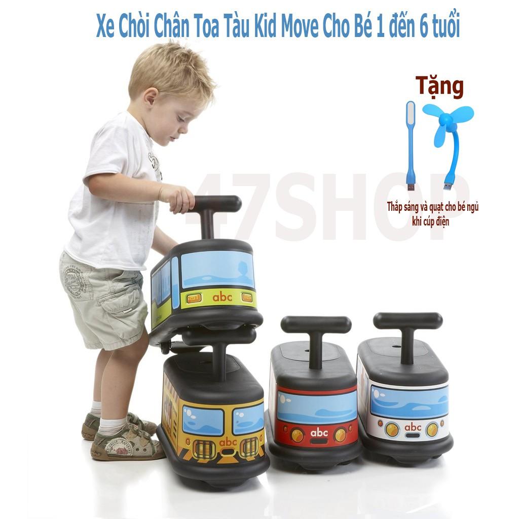 Xe Chòi Chân Toa Tàu Kid Move Cho Bé 1 đến 6 tuổi