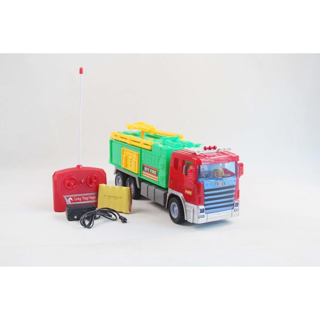 Đồ chơi điều khiển xe cứu hỏa Long Thủy LTH6668G