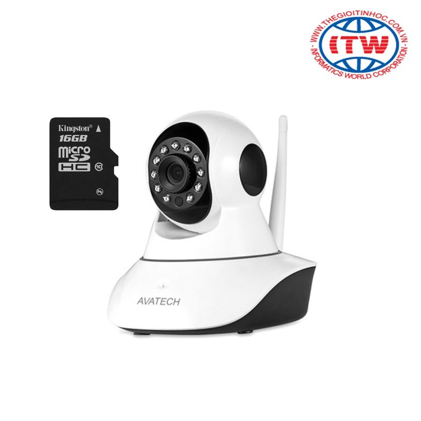 Giới thiệu sản phẩm Bộ Camera quan sát IP Wi-Fi AVATECH 6300A 1.0 (Trắng) - kèm thẻ nhớ 16GB - 2593415 , 117713936 , 322_117713936 , 669000 , Gioi-thieu-san-pham-Bo-Camera-quan-sat-IP-Wi-Fi-AVATECH-6300A-1.0-Trang-kem-the-nho-16GB-322_117713936 , shopee.vn , Giới thiệu sản phẩm Bộ Camera quan sát IP Wi-Fi AVATECH 6300A 1.0 (Trắng) - kèm thẻ nh