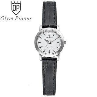 Đồng hồ nữ mặt kính sapphire Olym Pianus OP130-06 OP130-06LS-GL trắng thumbnail