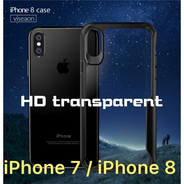 Ốp lưng chống sốc Viseaon trong suốt không ố, viền màu cho iPhone 7 / iPhone 8 - 2841338 , 834612560 , 322_834612560 , 151000 , Op-lung-chong-soc-Viseaon-trong-suot-khong-o-vien-mau-cho-iPhone-7--iPhone-8-322_834612560 , shopee.vn , Ốp lưng chống sốc Viseaon trong suốt không ố, viền màu cho iPhone 7 / iPhone 8