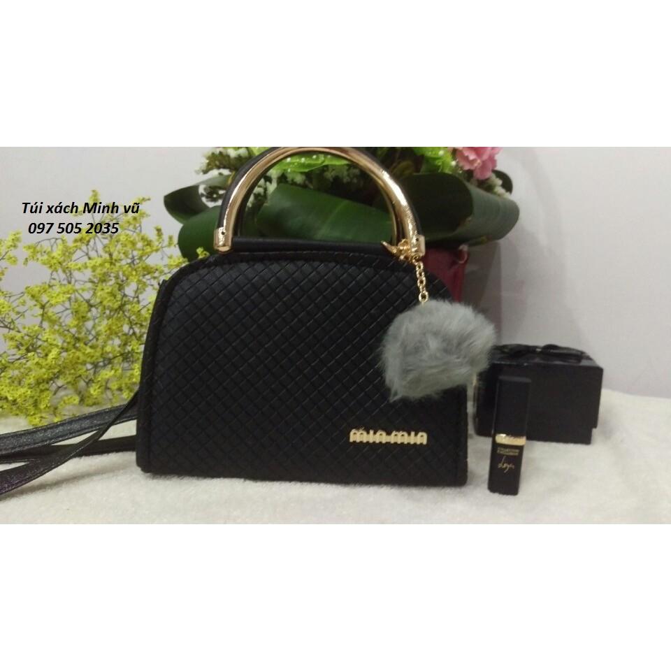 Túi xách nữ minmin màu đen