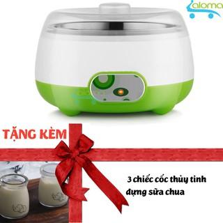 Máy làm sữa chua mini lồng inox Yogurt Maker PA-102 tặng 3 cốc thủy tinh thumbnail