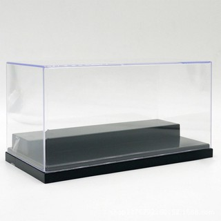 MD Figures Protection Showcase Single Sale Display Box with Base Plate for DIY