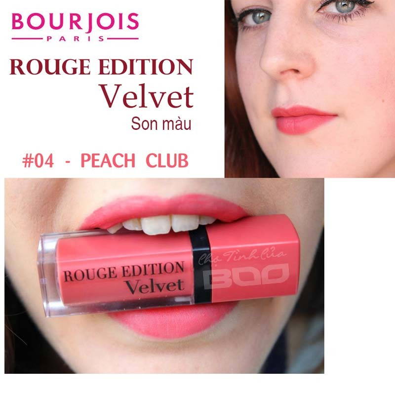Son Bourjois Rouge Edition Velvet #4