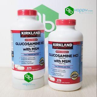 VIÊN UỐNG BỔ KHỚP CỦA MỸ KIRKLAND Signature™ Glucosamin HCL & MSM 1500MG