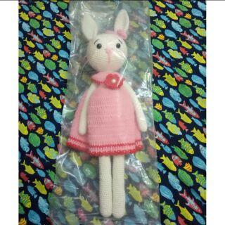 Thỏ Tiny váy hồng