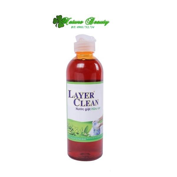 Nước giặt hữu cơ Layer Clean 300ml