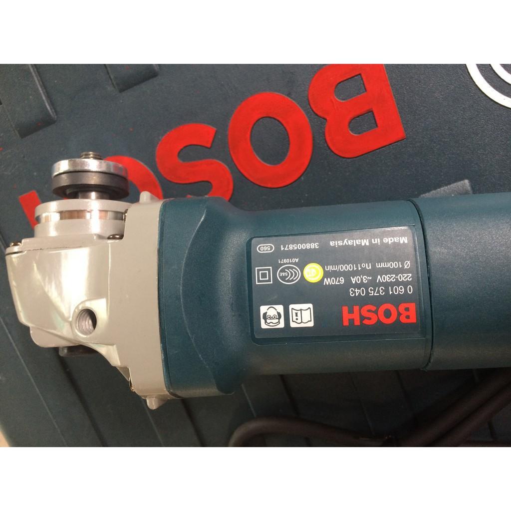Máy mài , máy cắt cầm tay BOSCH GWS 6-100 lõi đồng 670W - Máy cắt sắt bosch