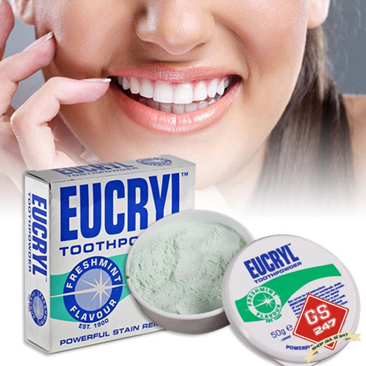Bột trắng răng Anh Eucryl