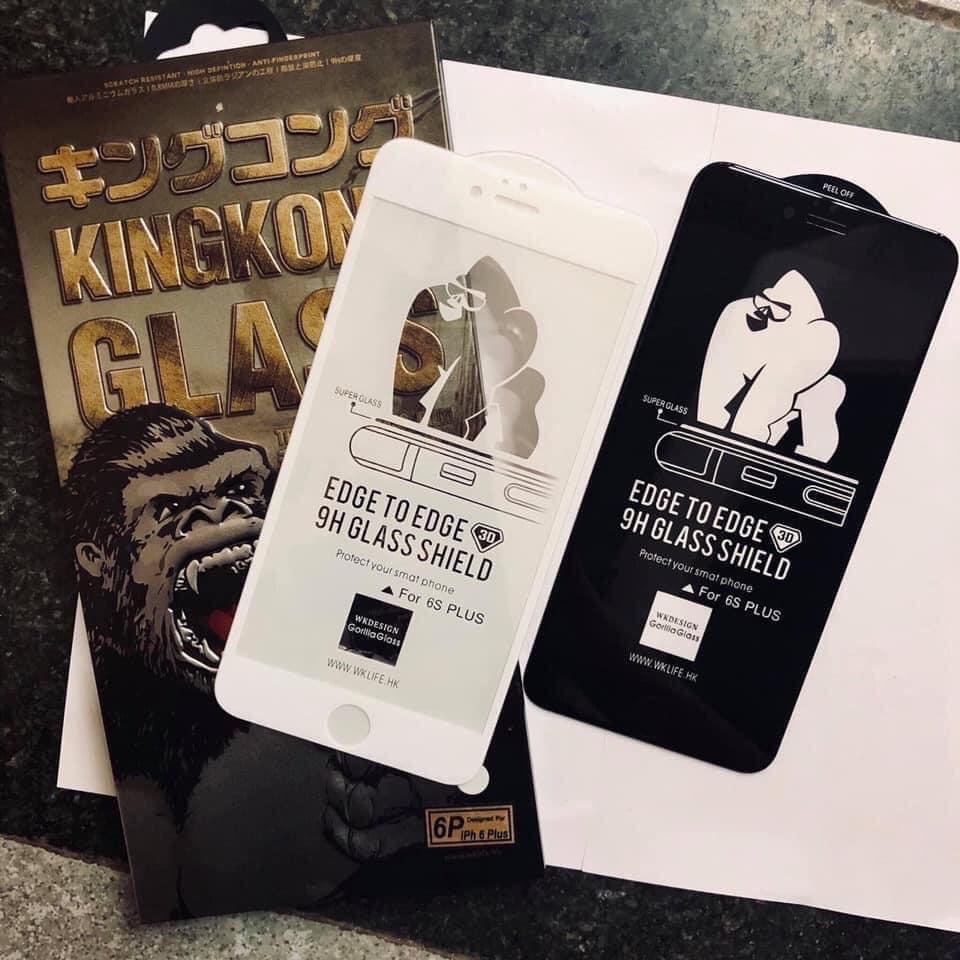 Kính Cường Lực Chính Hãng King Kong iphone 6/6plus/7/7plus/8/8plus/x/xr/xs max/11/11 pro/11 promax