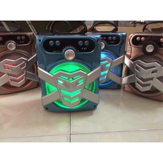 18x24 cm- Loa bluetooth Karaoke xách tay P86, P87, P88, P89 tặng kèm micro - 2992422 , 316428915 , 322_316428915 , 320000 , 18x24-cm-Loa-bluetooth-Karaoke-xach-tay-P86-P87-P88-P89-tang-kem-micro-322_316428915 , shopee.vn , 18x24 cm- Loa bluetooth Karaoke xách tay P86, P87, P88, P89 tặng kèm micro
