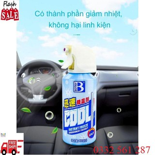 ❤️FREE SHIP❤️Bình Xịt Lạnh Thể Thao 180ml_Hạ Nhiệt Nhanh