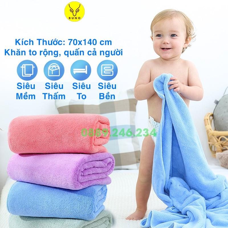 Khăn tắm lông cừu Hàn Quốc cao cấp 70x140 cm, khăn bông siêu mềm và thấm nước, khăn tắm khách sạn, khăn cho bé sơ sinh