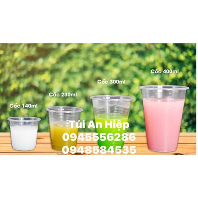 Cốc nhựa dùng một lần (nhiều size, 1 lốc 50 cốc) (Disposable plastic cups, 50 pcs/set)