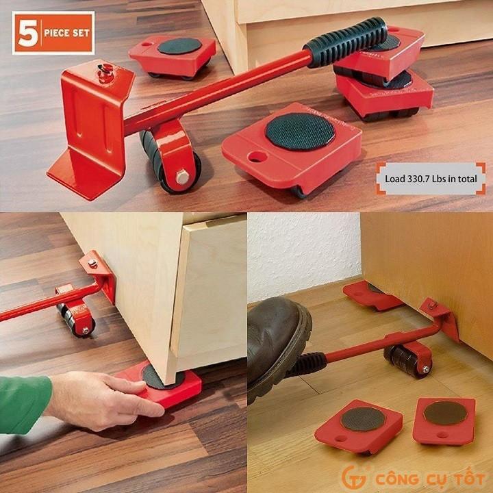 Dụng cụ nâng và hỗ trợ di chuyển đồ đạc thông minh - Di chuyển đồ - bộ chuyển đồ