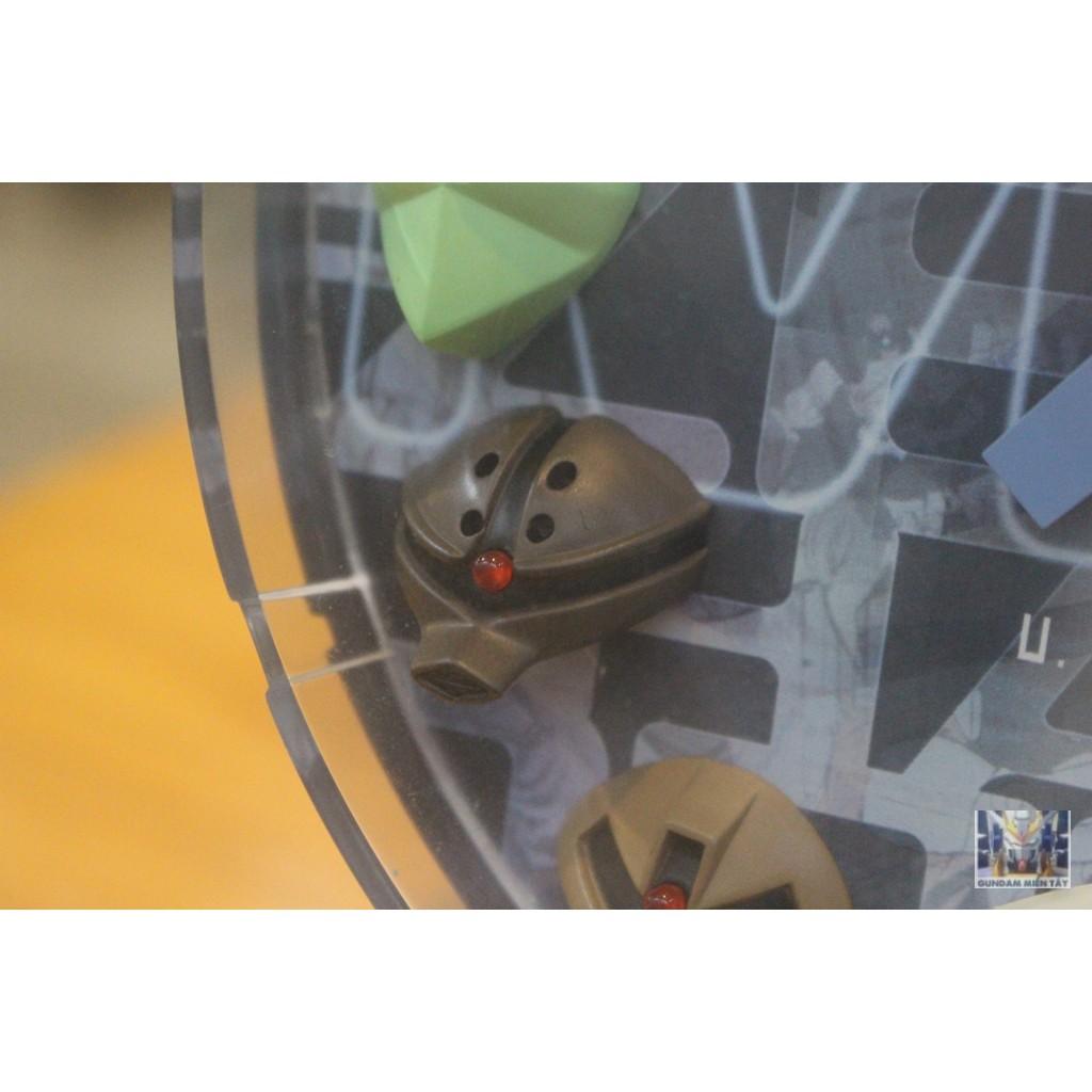 Mô hình Đồng hồ báo thức Gundam 3D Clock Zeon Clock