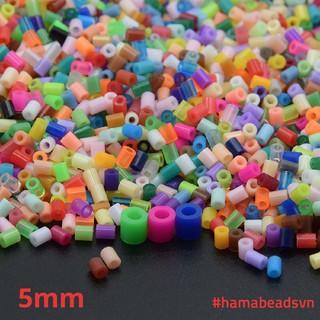 [HÀNG CÓ SẴN] 1000 hạt Perler beads, Hama beads, Hạt màu kì thú (Loại to 5.5mm) – NHIỀU MÀU LỰA CHỌN