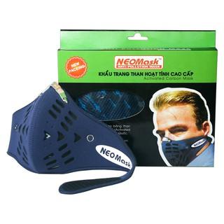 [Chính Hãng Neomask VN] Khẩu Trang Than Hoạt Tính Cao Cấp NeoMask Anti Pollution Mask NM thumbnail