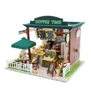 Mô hình nhà gỗ – DIY / Coffee Time