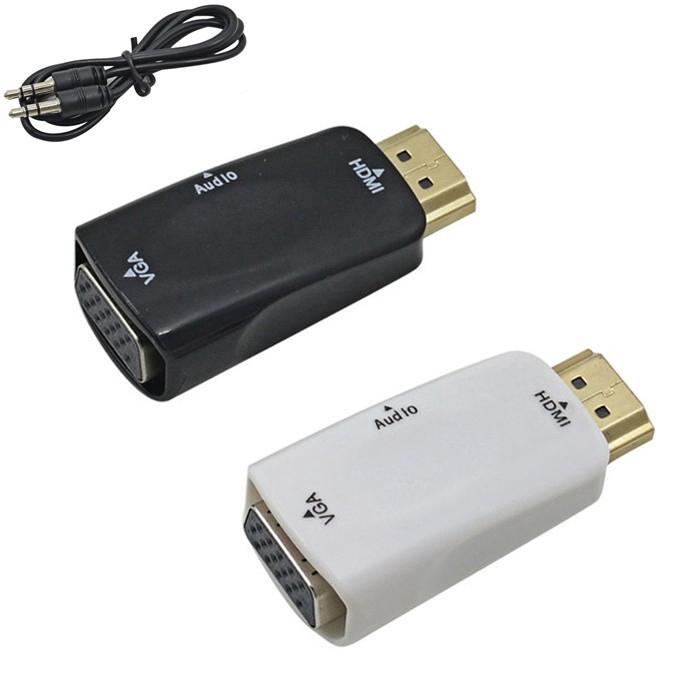 Cáp chuyển đổi từ cổng HDMI đực sang cổng VGA cái