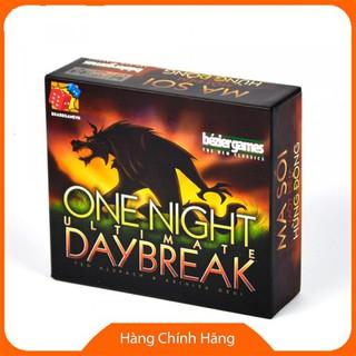 [Hỗ trợ giá] Combo Ma Sói 3 bộ Kinh Điển Character + Một Đêm One Night + Day Break Hừng Đông_Hàng tốt