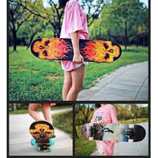 Ván trượt thể thao skateboard gỗ phong ép 7 lớp dài 80 cm msp 1216