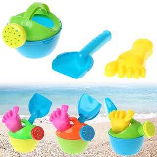 3pcs/set Baby Bath Flower Pot Sand Beach Play Toys Funny Educational Tools