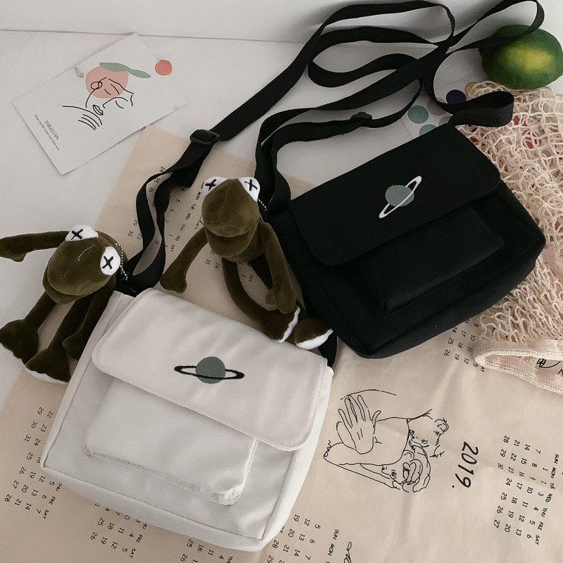 Túi đeo chéo đa năng phong cách thời trang Harajuku cho giới trẻ