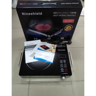 Bếp hồng ngoại - Bếp hồng ngoại đơn 2 vòng nhiệt Nineshield KB-8601