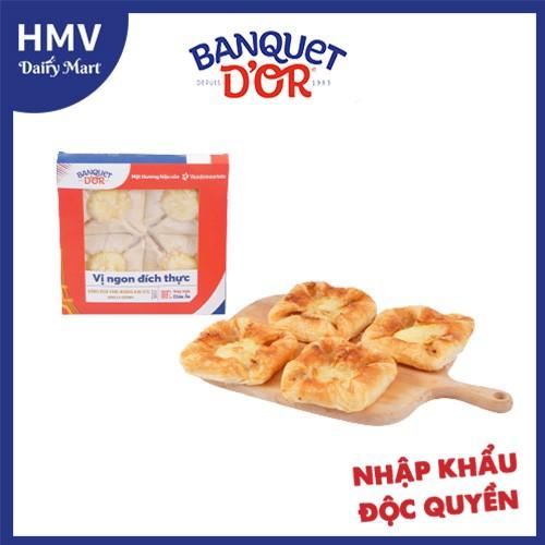 Bánh nhân kem vani hoàng kim nhập khẩu (nướng nồi chiên không dầu hoặc lò nướng)