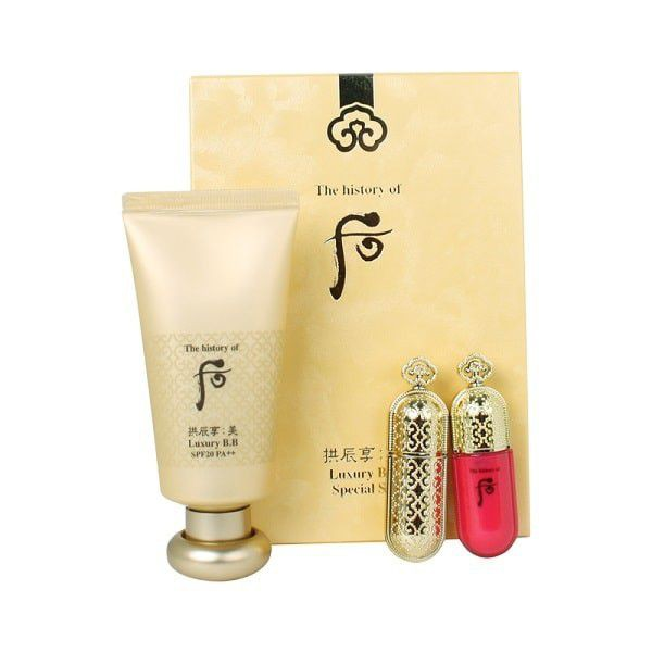 BỘ KIT BB CREAM + SON WHOO LUXURY B.B Special Set 3SP - 2676720 , 257908914 , 322_257908914 , 1400000 , BO-KIT-BB-CREAM-SON-WHOO-LUXURY-B.B-Special-Set-3SP-322_257908914 , shopee.vn , BỘ KIT BB CREAM + SON WHOO LUXURY B.B Special Set 3SP