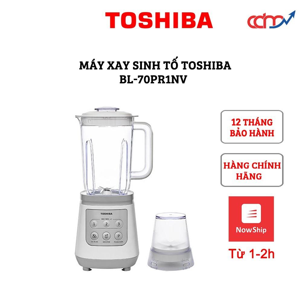 Máy xay sinh tố Toshiba BL-70PR1NV - Hàng chính hãng - Thương hiệu Nhật Bản