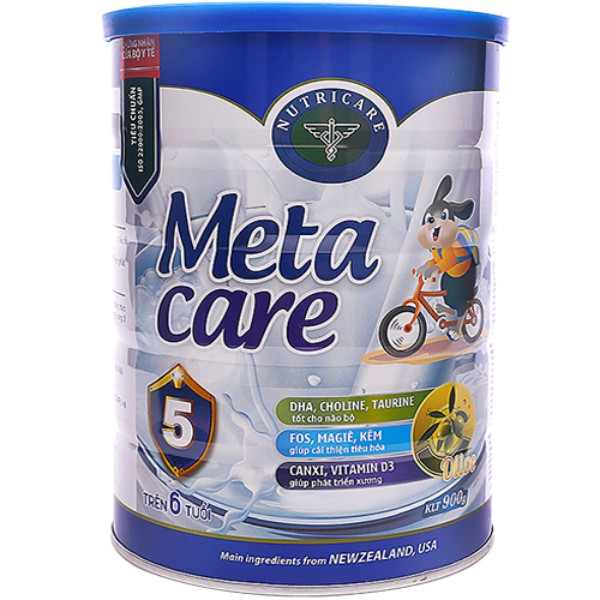 sữa meta care 5 metacare 5 900g