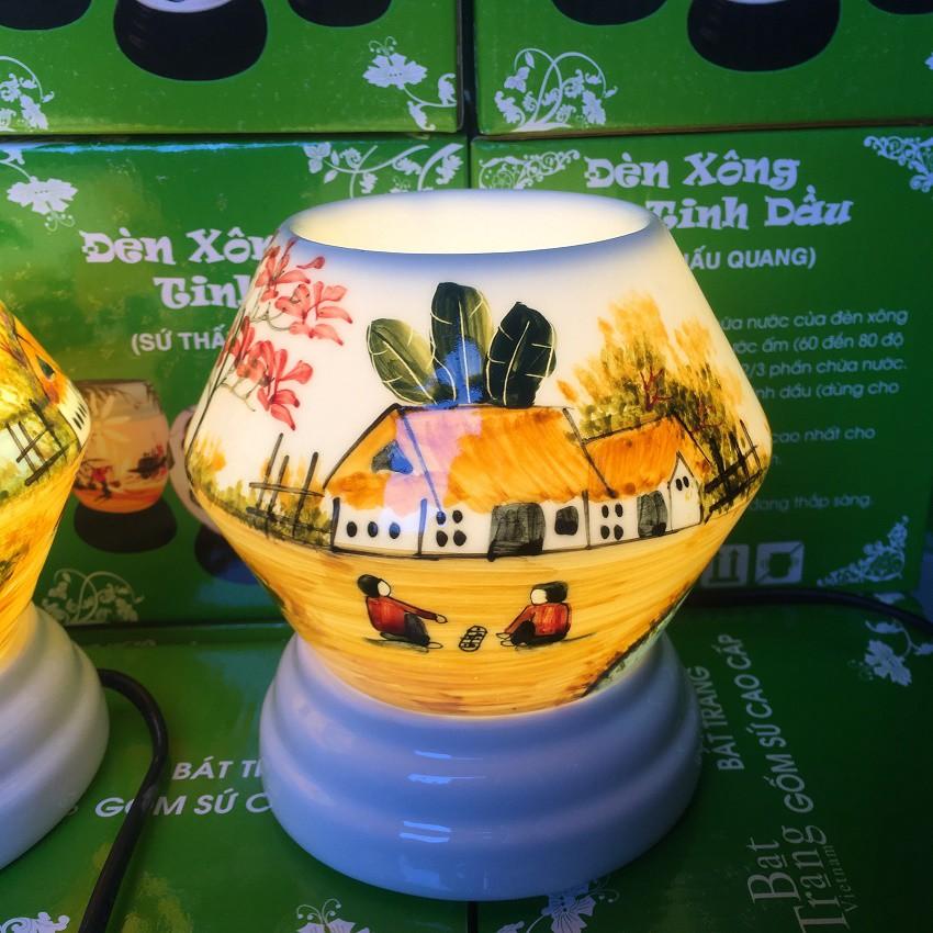Đèn xông tinh dầu Bát Tràng dáng Lồng Đèn tặng kèm tinh dầu - 2728920 , 1092839163 , 322_1092839163 , 139000 , Den-xong-tinh-dau-Bat-Trang-dang-Long-Den-tang-kem-tinh-dau-322_1092839163 , shopee.vn , Đèn xông tinh dầu Bát Tràng dáng Lồng Đèn tặng kèm tinh dầu