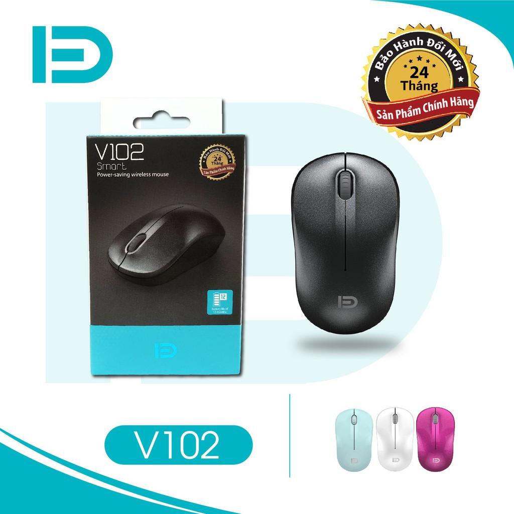 Chuột không dây Wireless FD V102 Pin dùng 12T (có 4 màu tùy chọn) - BH 24 tháng !!!