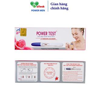 Bút thử thai POWER MEN TES cho kết quả nhanh chóng chính xác trên 99% hộp 1 bút thumbnail
