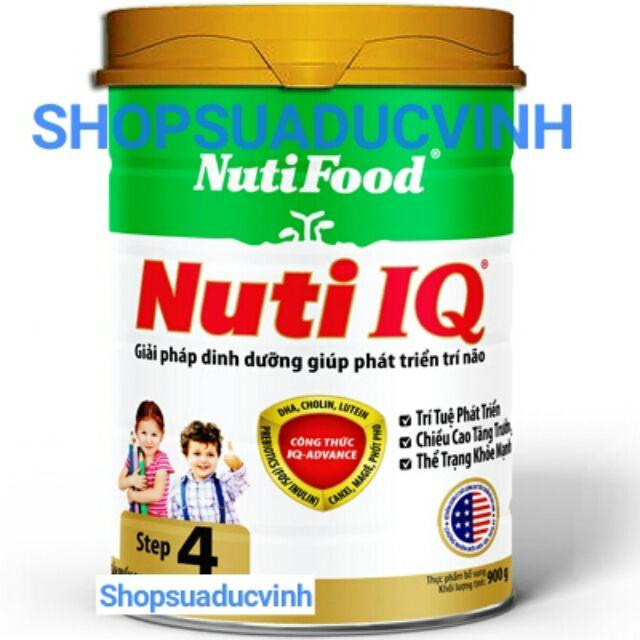 Sữa bột NutiFood Nuti IQ 4 900g date 2020
