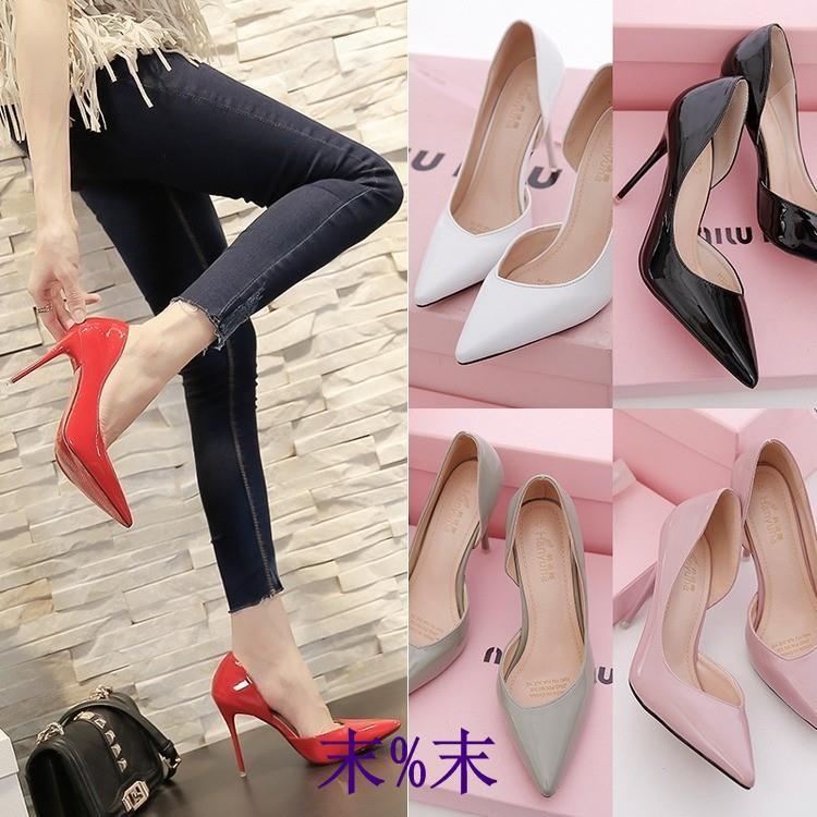 giày cao gót mũi nhọn 10cm màu nude