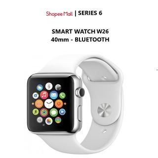 [Mã ELMS5 giảm 7% đơn 300K] Đồng hồ thông minh W26 smart watch w26 màn hình tràn viền, chống nước tuyệt đối