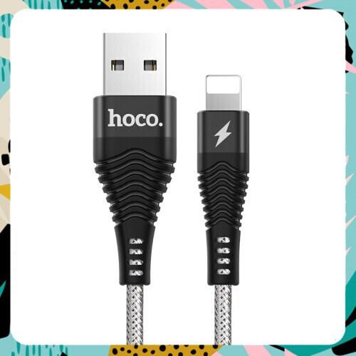 [SALE MẠNH] Cáp Sạc Nhanh dành cho iPhone iPad Hoco U32 Chính Hãng   Bọc Thép   Chống Đứt