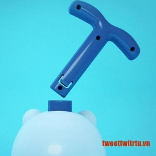 【TrTu】Inertial Power Balloon Car Toy Inflatable Tube Launcher Education Experi