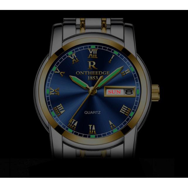 Đồng hồ nam Ontheedge RZY031 dây kim loại