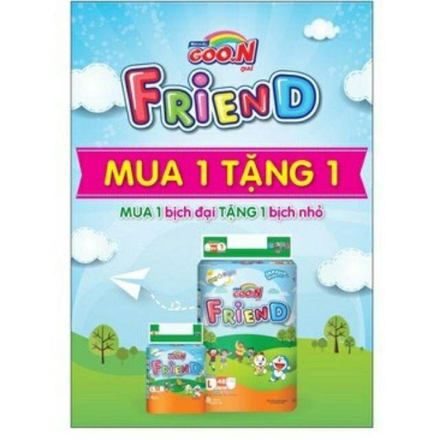 Bỉm Goon Friend quần S62,M58,L48,XL42,XXL34