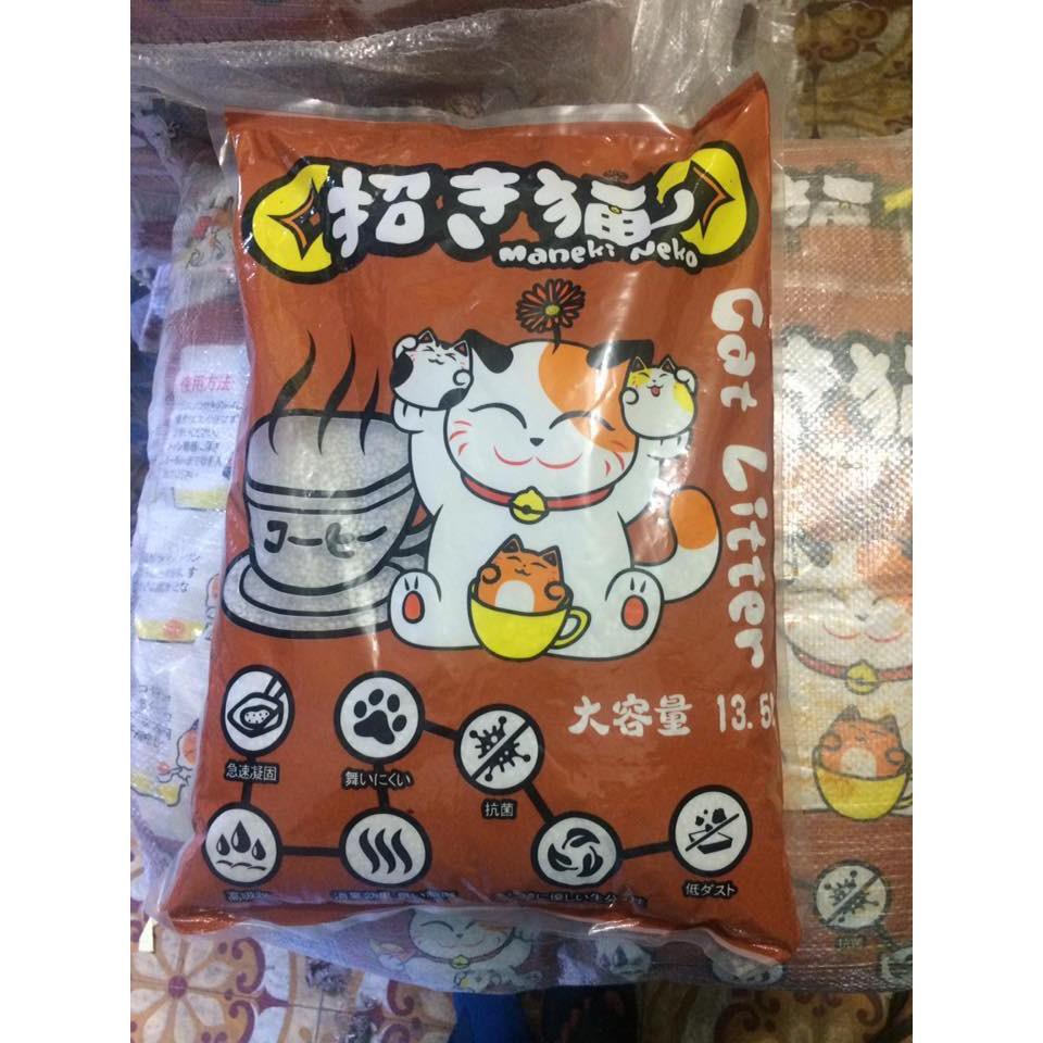 Maneki Neko Cat Litter -Cát Vệ Sinh Cho Mèo Công Nghệ Nhật Bản